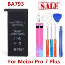 Batería BA793 de 3510mAh para Meizu Pro 7 Plus, BA793, M793Q, M793M, M793H, número de seguimiento
