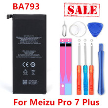 new BA793 3510mAh Battery For Meizu Pro 7 Plus BA793 M793Q M793M M793H Battery+Tracking Number