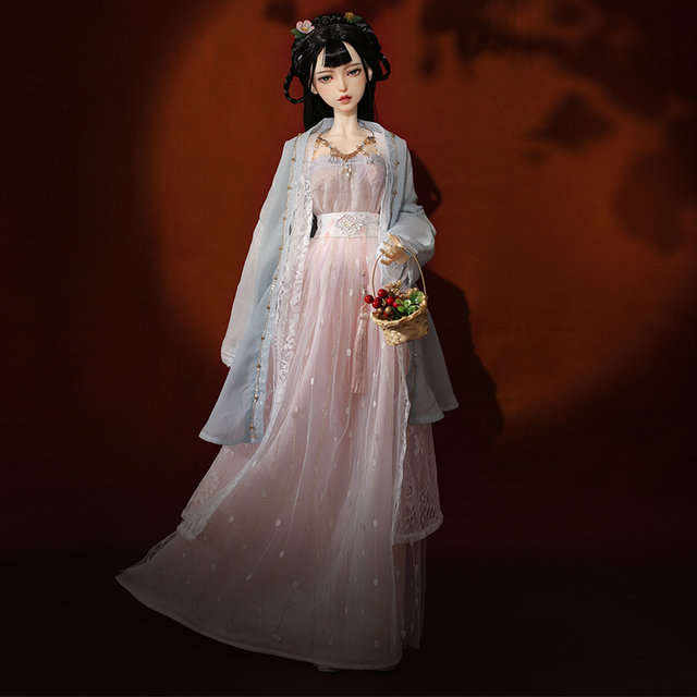 Shuga Fairy Yuka Zlinglong Doll BJD 1/3 ancient style dolls fullset complete professional makeup Toy Gifts movable joint doll