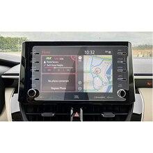 RUIYA For Corolla 2019 2020 8 인치 카 네비게이션 터치 센터 스크린 프로텍터 자동 인테리어 액세서리 강화 유리 필름