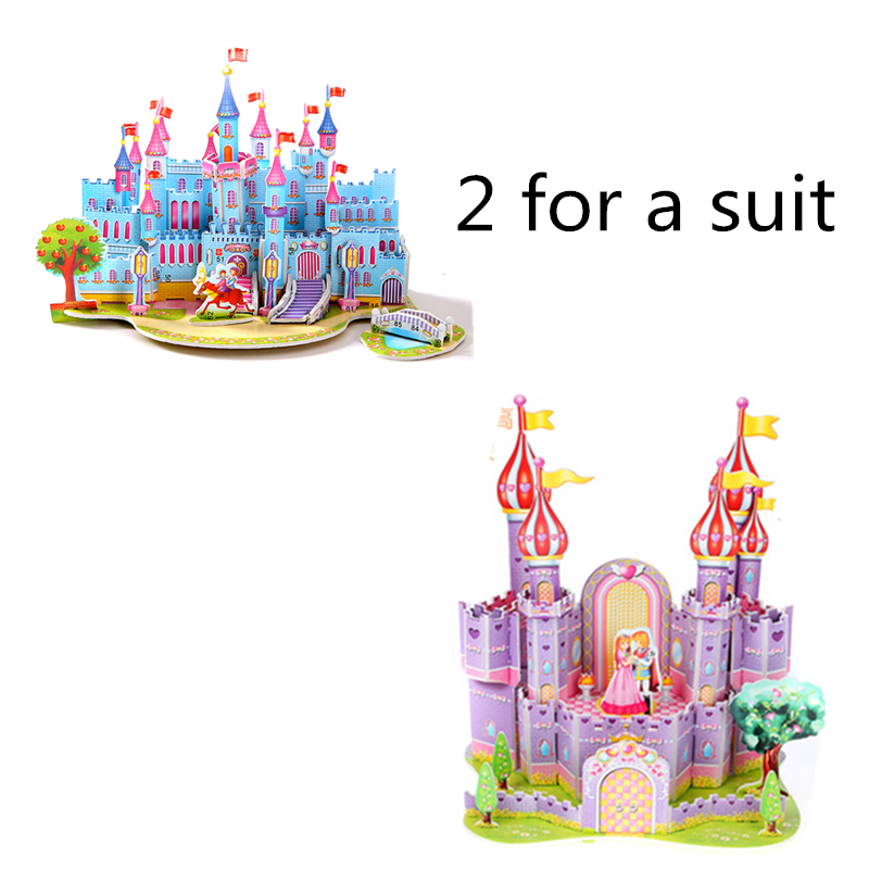 Купить 3d трехмерный пазл детские обучающие игрушки приз для начальной