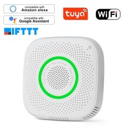 Tuya WiFi датчик утечки газа LPG сигнализация детектор пожарной безопасности приложение контроль безопасности умный дом датчик утечки