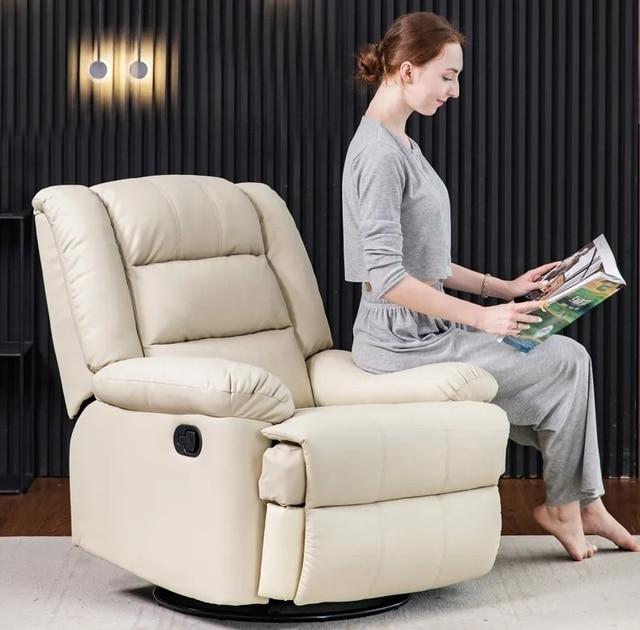 First Class Sofa Manual Swivel Chair 3
