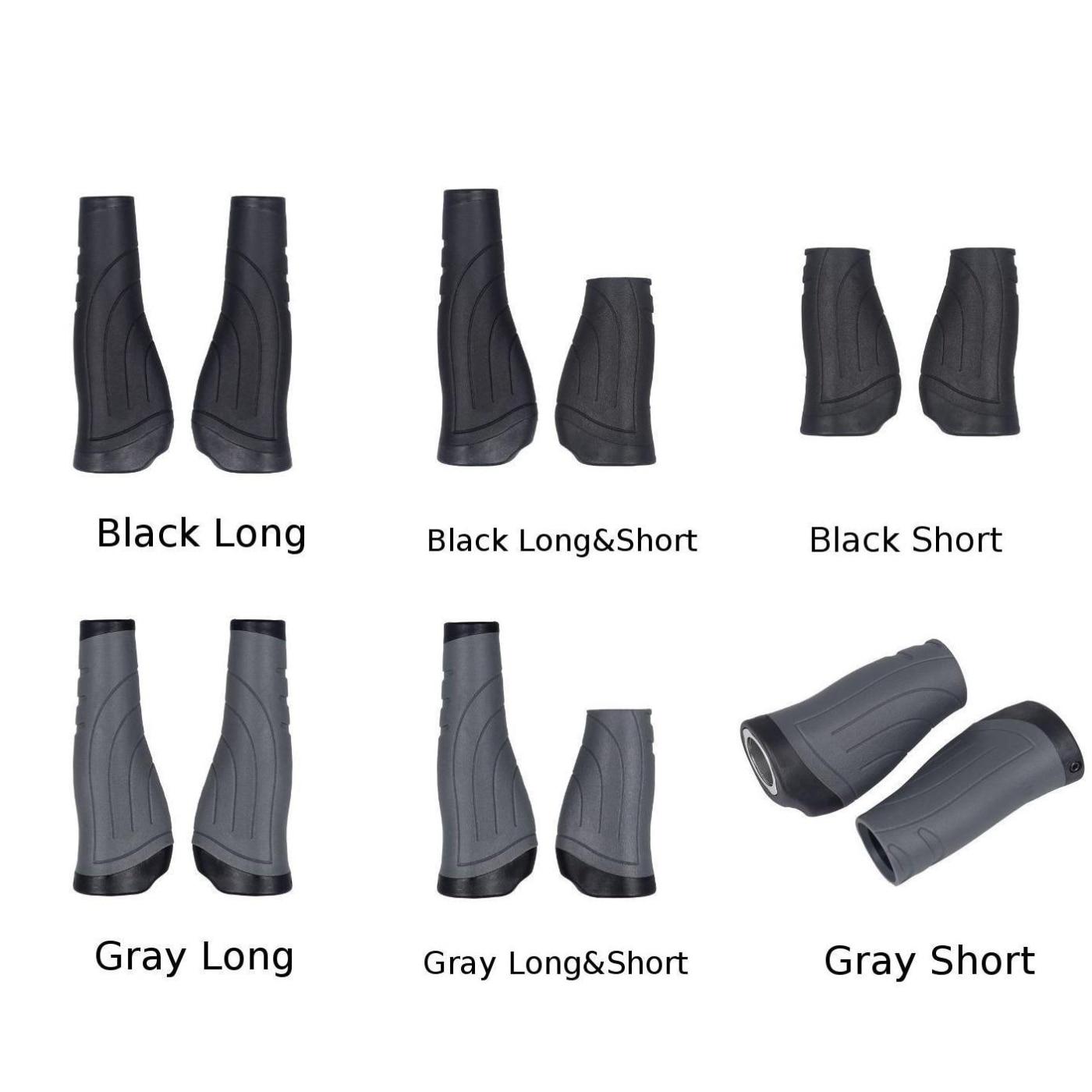 1Pair Bike Handlebar Grip Bicycle Grips Long//short For Shifter Folding Bicycle