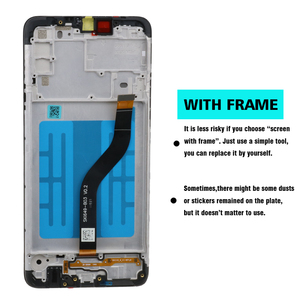 Image 2 - 100% Оригинальный дисплей 6,5 дюйма для SAMSUNG Galaxy A20s, ЖК дисплей с дигитайзером сенсорного экрана и рамкой, замена на модуле, с модулем, для SM A207F
