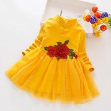 2019 New Flower Baby Dresses For Girls Party Lace Dresses Ve
