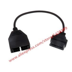 GM general motors 12pin к 16pin OBD1 OBD2 соединительный кабель, удлинитель, фабрика OBDII OBDI адаптер, разъем