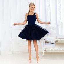 Feminino festa vestido curto renda chiffon elegante vestido de princesa plus size 2xl espaguete cinta vestidos longo robe femme