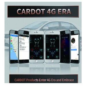 Image 4 - Cardot 4G astuto di gps gsm push pulsante di avvio dellautomobile di inizio a distanza allarme app avviare sos di allarme centrale di allarme di blocco sistema di