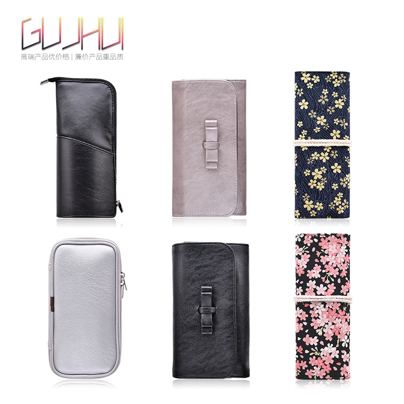 1Pcs Makeup Brushes Case Empty Portable Holder Organizer Pouch Pocket Cosmetic Brush Beauty Bag Makeup Tools Brush Holder TSLM1