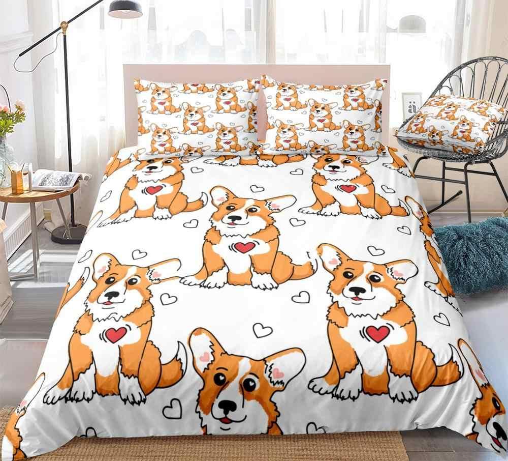 corgi bed set