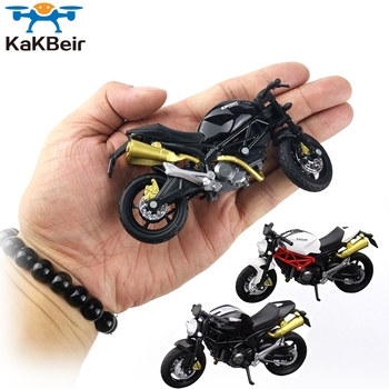 KaKBeir 1:18 Home Children Plastic Car Decor Off-road Vehicle Collection Office Model Toy Diecast Motorcycle Simulation Portable image