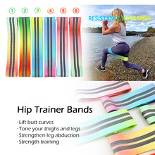 Yoga Resistance Bands fitness Loop Yoga Pilates Home GYM Fitness Exercise Workout Training pull up Rubber Bands