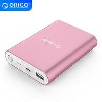 ORICO-cargador rápido QC2.0 de 10400mAh, batería portátil para teléfono móvil iPhone y Xiaomi
