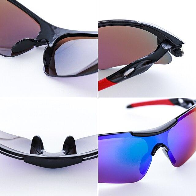 2020 novo esporte ao ar livre ciclismo eyewear mountain bike bicicleta óculos uv400 das mulheres dos homens esportes óculos de sol caminhadas correndo à prova vento 4