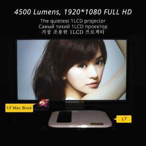 Image 5 - Touyinger L7 LED 1080P 저렴한 갓성비 프로젝터 가정용 강의용 빔프로젝터 , 풀 HD 미니 브랜드 USB 비머 4500 루멘 안드로이드 7.1 와이파이 블루투스 홈 시네마 HDMI