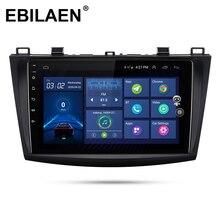 Lecteur multimédia de voiture EBILAEN pour Mazda 3 2009-2013 magnétophone Autoradio GPS Navigation vidéo LTE 4G unité de tête IPS stéréo