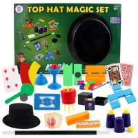 New Strange Children'S Magic Props Close Up Stage Poker Replacement Gold Coins Disappeared Series Toy Set