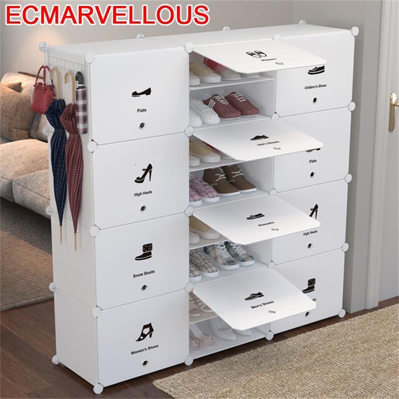 Gabinete Minimalist Placard De Rangement Zapatera Organizador Zapatero Scarpiera Mueble Cabinet Meuble Chaussure Shoes Rack