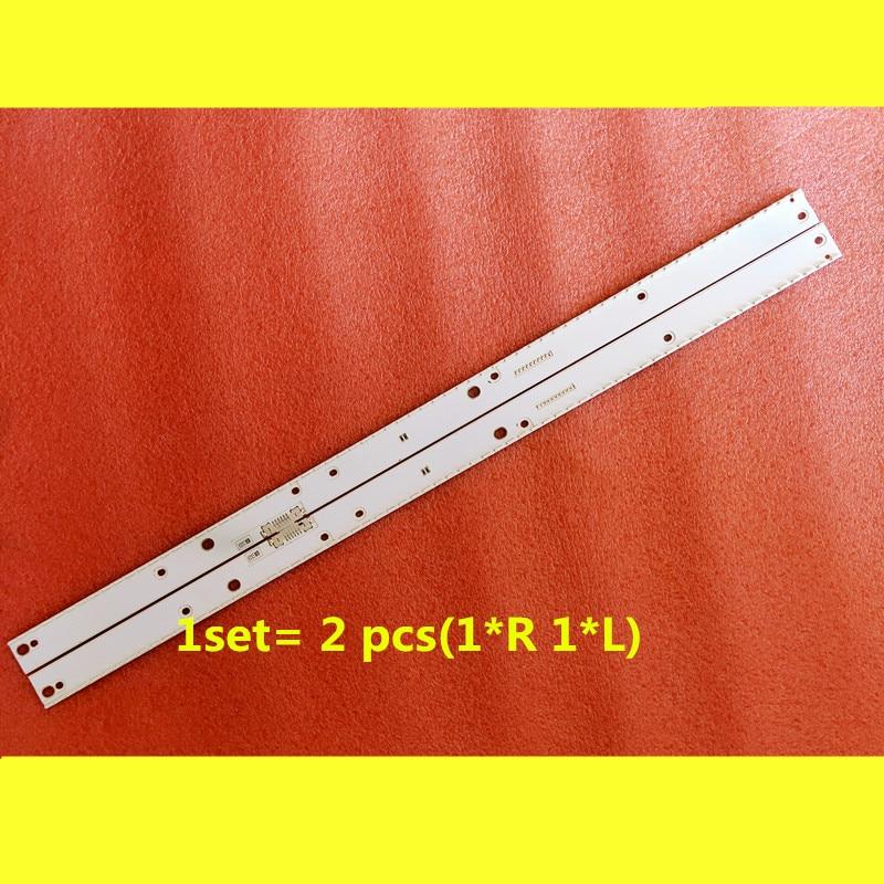 2PCS/set  66LED LED Backlight Strip For Samsung UE55KU6670 UN55MU7000 UE55MU6400 UE55KU6500 BN96-39595A 39596A BN96-39601A 39602