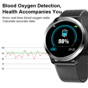 "Image 5 - 2020 חכם שעון IP68 אק""ג + PPG לחץ דם מדידה E70 Smartwatch לב שיעור חמצן צג שיחת תזכורת ספורט גברים נשים"