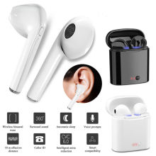 AA Wireless Bluetooth Earphone In Ear TWS With Mic Charging Box Handsfree Handsets Stereo Sport Earbuds For iPhone Xiaomi i8 bluetooth wireless earphone stereo earbuds in ear earphone not air pods for iphone 6 7 8 plus apple android with charging box