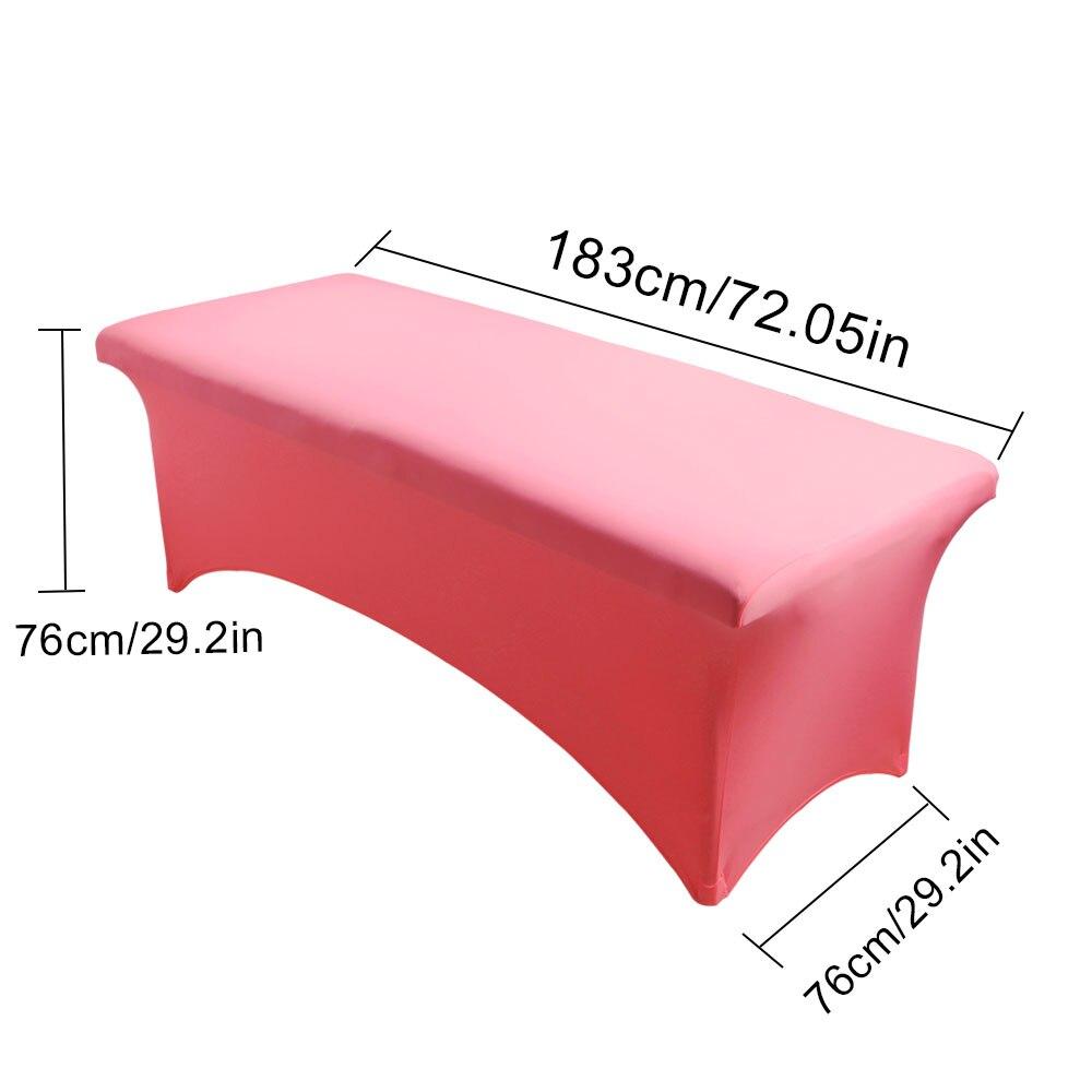 Image 5 - Grafting Lash Bed Cover Special Eyelash Eyelashes Table Bed Cover Sheet Rectangular Spandex Tight Fit Cosmetic Salon Makeup TooLFalse Eyelashes   -