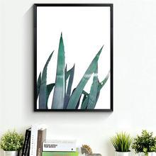 Картина маслом vogvigo настенные художественные плакаты с агавом