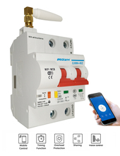 EWeLink Smart Stroomonderbreker Wifi Smart Switch Grote Zware Huidige 16A ~ 80A APP controle domotica domotica