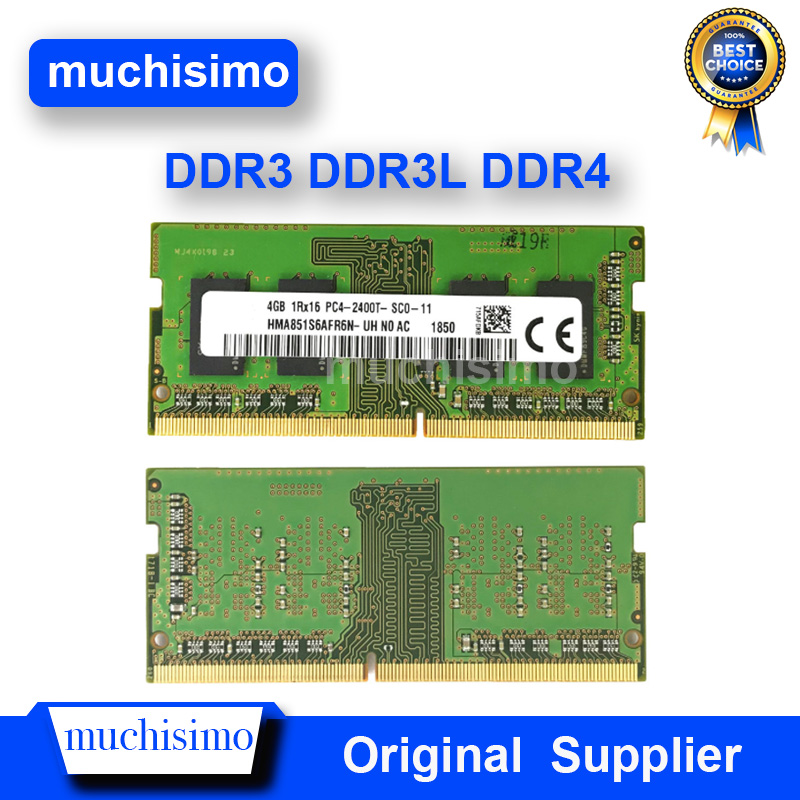 Memory Notebook RAM 2GB 4GB 8GB 16G PC2 PC3 PC4 DDR2 DDR3 DDR4 1066 1333 1600 1866 2133 2400Mhz 8500 Laptop Fully Compatible
