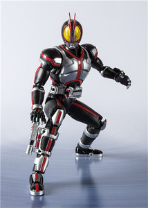 Image 3 - Japan Anime SHF Masked Rider Faiz 20 Kamen Rider Kicks Ver. BJD Action Figure Model Toys