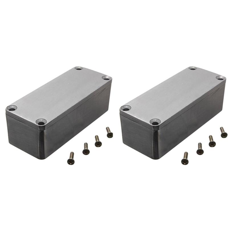 "3.6""x1.5/""x1.2/"" Aluminum Electronics Enclosure Project Box Case Electrical DIY US"