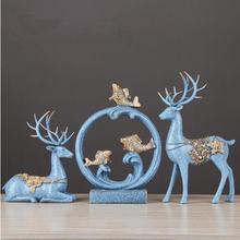 Украшение в виде оленя и Лебедя европейском стиле украшение