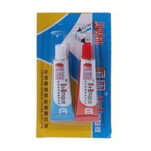 цены 2Pcs Epoxy Resin Adhesive AB Glue For Glass Metal Ceramic Wood Multipurpose Glue G8TB