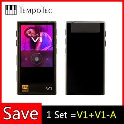 Odtwarzacze MP3 wariacje TempoTec V1/V1-A obsługa HIFI wejście i wyjście Bluetooth LDAC dla przenośnego dźwięku USB DAC