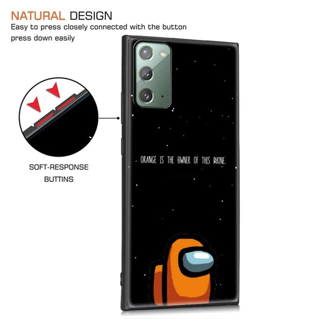 TOP Games Among Us Phone Case For Samsung Galaxy M11 M21 M31 M31s M51 M01 M10s M20 M30s M40 TPU Soft Black Cover