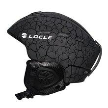 LOCLE, для спорта на открытом воздухе, для мужчин и женщин, лыжный шлем, 6 цветов, лыжный шлем, сертификация CE, лыжный шлем для сноуборда, скейтборда, 55-61 см