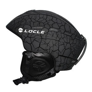 LOCLE Skateboard Helmet Ski Ce-Certification Sports Outdoor Skiing 55-61cm 6-Colors Men