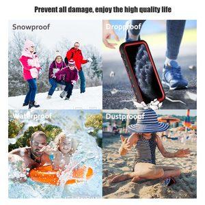 Image 5 - SHELLBOX מקרה עמיד למים עבור iPhone 11 פרו מקסימום 360 מגן כיסוי עמיד הלם שחייה צלילה Coque עבור iPhone11 מתחת למים מקרה