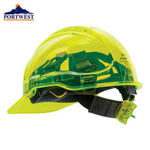 Portwest pv60 защитный шлем с пиковым видом вентилируемый храповик