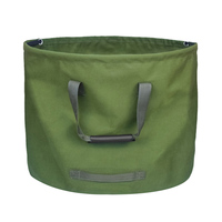 2 pacote portátil à prova dreágua reutilizável jardim gramado folha lixo saco de armazenamento recipiente tote jardim quintal composto saco|Sacos de lixo|Casa e Jardim -