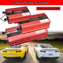 цена на Solar Power Inverter 6000/4000/3000W 12/24V to 110/220V Car Inverter LCD Digital Display Voltage Charger Converter Transformer
