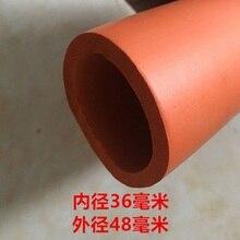 Оранжевый 18/22/25/28/32/36 мм(ID) 1 м Фитнес оборудование бары ручки теплоизоляция труб поролоновая губка трубки
