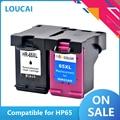 Совместимый чернильный картридж совместимый с HP 65 65XL для HP 65 new generafor HP Envy 5010 5020 5030 5032 5034 5052 принтеры