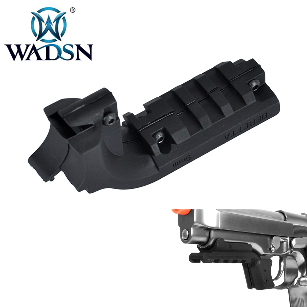 WADSN Tactical BERETTA M9 MOUNT Airsoft Pistol 20mm Under Rail Mount Adapter Laser Mounts WPA0204 Softair Hunting Accessories