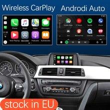 اللاسلكية أبل CarPlay الروبوت السيارات ل BMW CIC نظام 3 5 7 سلسلة X1 X3 X4 X5 X6 F10 F11 F07 F01 F02 E60 E90 E84 F25 E70 E71