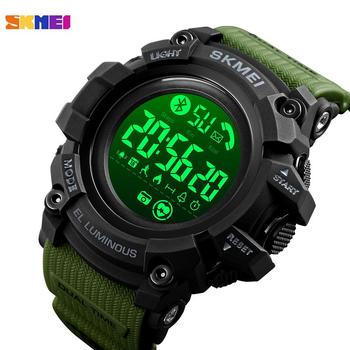 SKMEI LED Digital Men Watch Pedometer Calorie Date Clock Heart Rate Monitor Sport Watches Male Wristwatch Relogio Masculino 1643 skmei brand pedometer sport watch men digital multifunction casual fitness led watches fashion men s outdoor wristwatch relogio