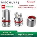 Лидер продаж  оригинал  1 шт.  20 шт.  MECHLYFE  компактная рба-колода для Винчи/Винчи R/Винчи X Pod  комплект  рба-катушка  головка для Винчи  Vape комплек...