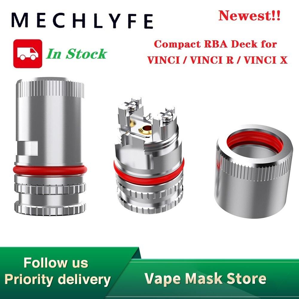 Hot Sale Original 1pc 20pcs MECHLYFE Compact RBA Deck For VINCI / VINCI R / VINCI X Pod Kit RBA Coil Head For VINCI Vape Kit
