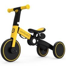 Детский велотренажер 2 в 1 трехколесный велосипед для малышей